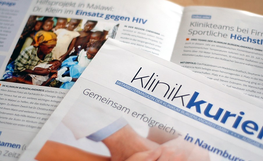 Agentur für Corporate Publishing Klinikkurier